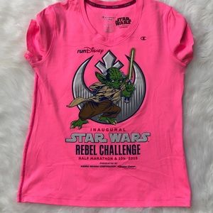 Run Disney Star Wars inaugural rebel yoda lt saber